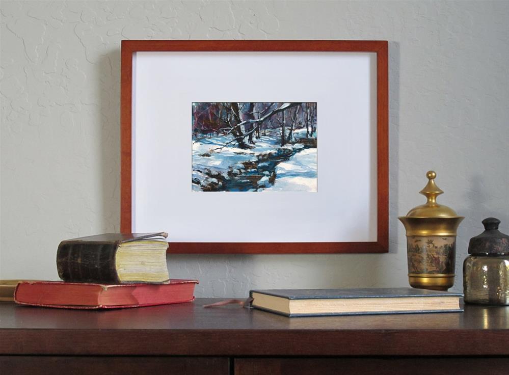 """A Winter's Day"" original fine art by Linda Henry"
