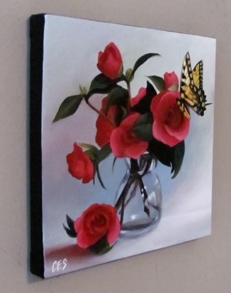 """Good Morning, Beautiful"" original fine art by ~ces~ Christine E. S. Code"