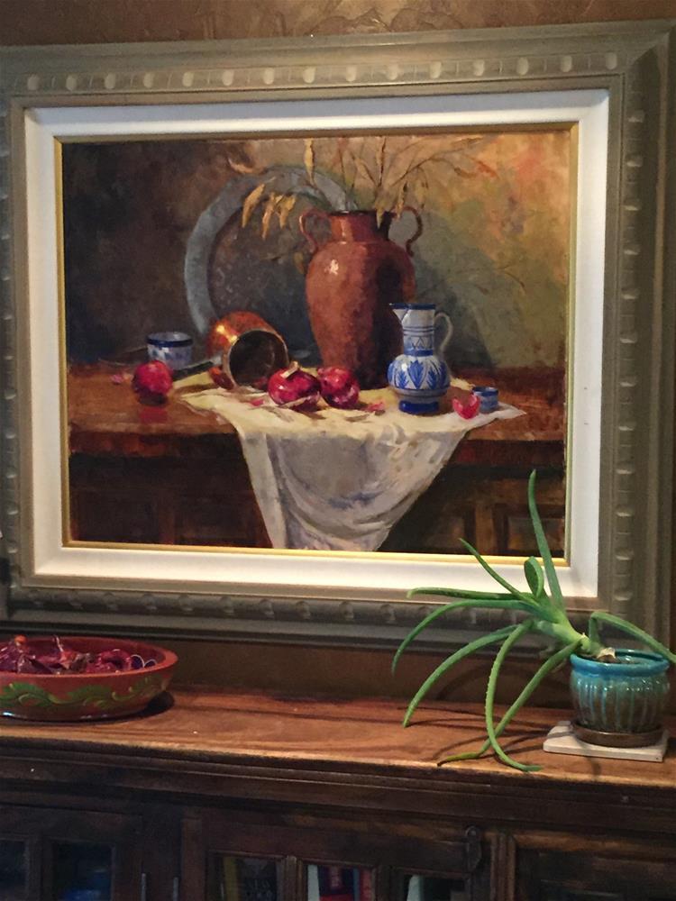 """Collaboration of Friends"" original fine art by Barbara Fluty"