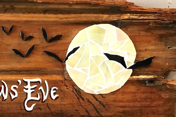 """All Hallows Eve"" original fine art by Joetta Currie"