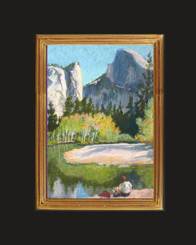 """Yosemite Artist"" original fine art by Rhett Regina Owings"