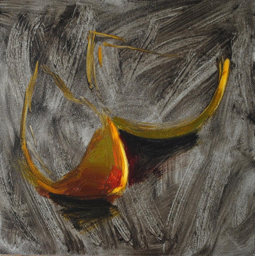 """Grapefruit Slices"" original fine art by Elena Katsyura"
