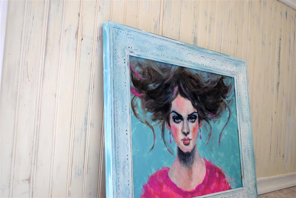 """Connected"" original fine art by Kelly Berkey"