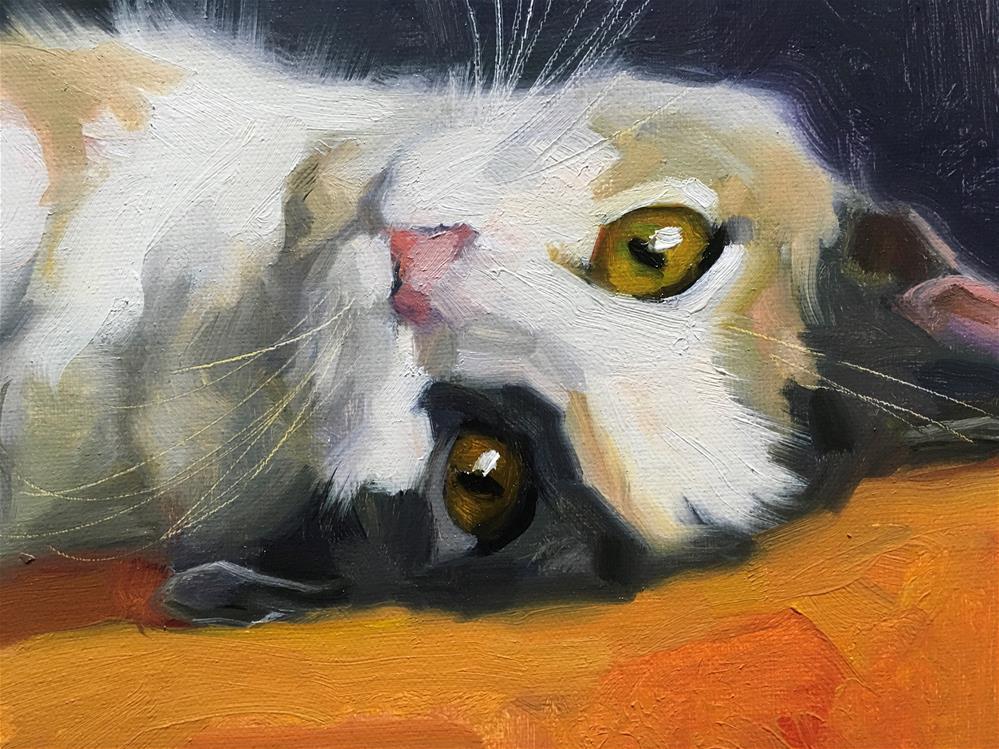 """Adopt383"" original fine art by Katya Minkina"