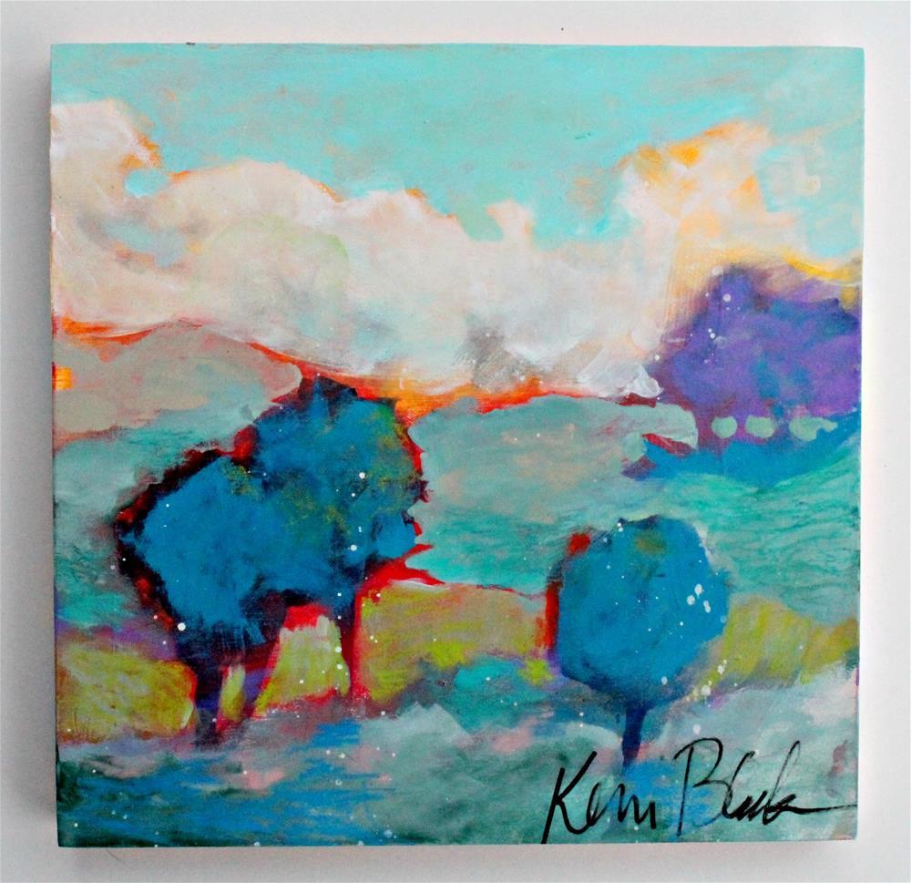 """Sea of Grass "" original fine art by Kerri Blackman"