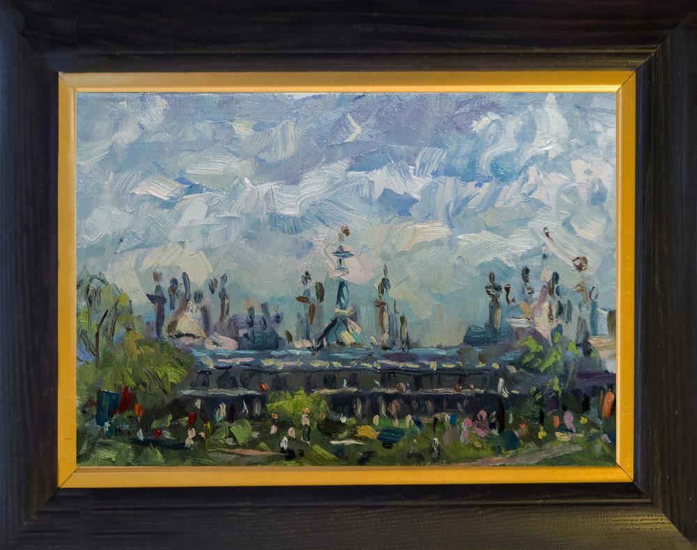 """Brighton Pavilion"" original fine art by Andre Pallat"