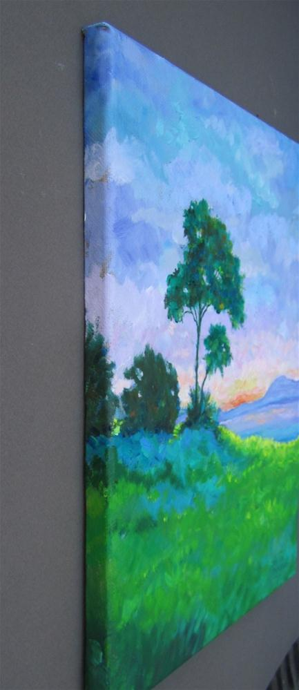 """Sunrise"" original fine art by Patricia Musgrave"