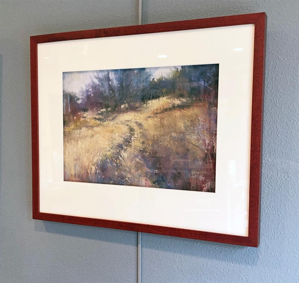 """Saving Grace (and the color study)"" original fine art by Barbara Benedetti Newton"
