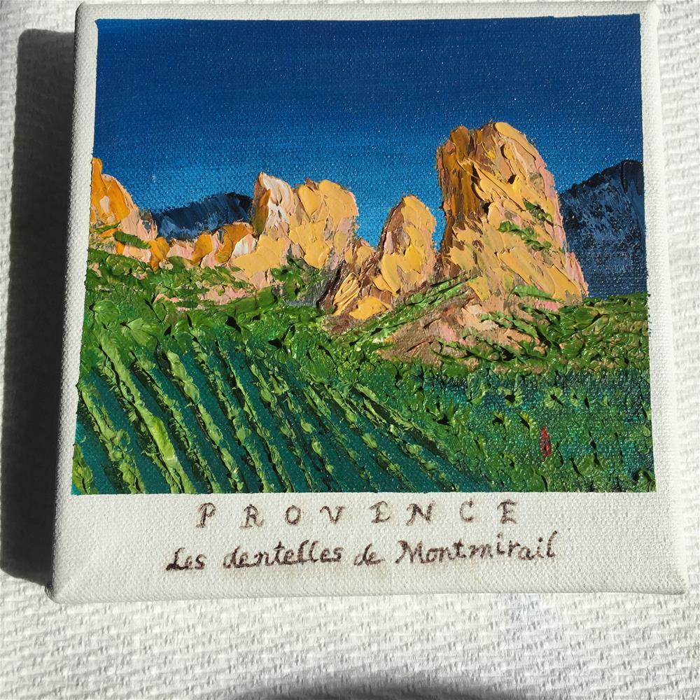 """""""Provence Vineyards"""" original fine art by Rose Brenner"""