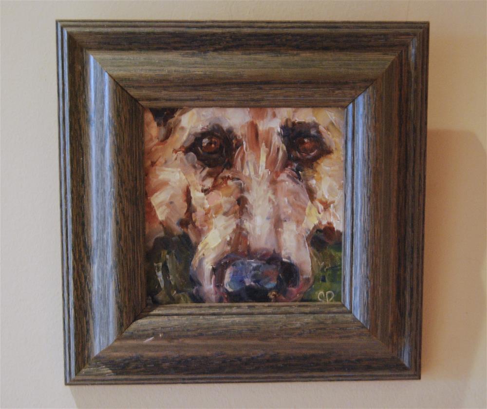 """Protector and Friend"" original fine art by Carol DeMumbrum"