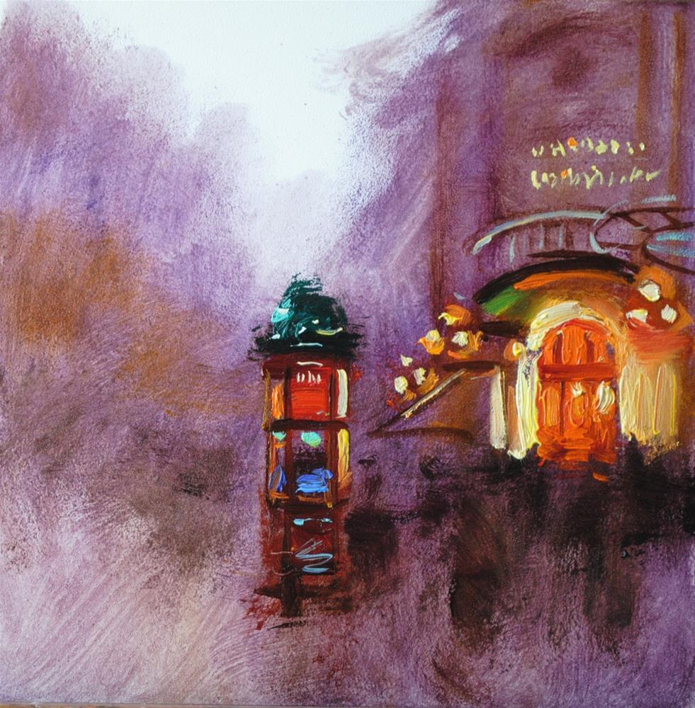 """After Rain"" original fine art by Elena Katsyura"