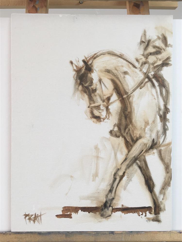 """Schooling Finya #3"" original fine art by Jennifer Pratt"