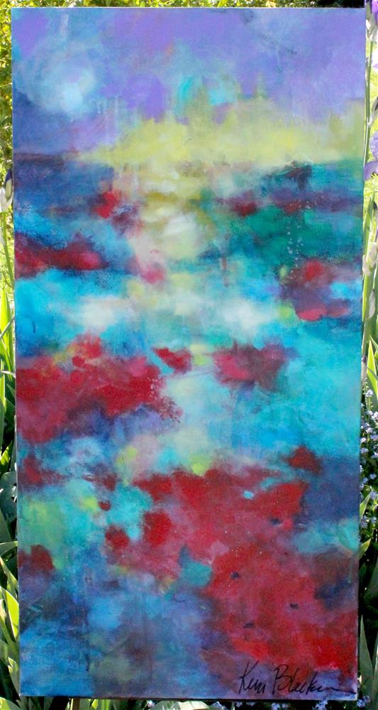 """Magic Poppies "" original fine art by Kerri Blackman"