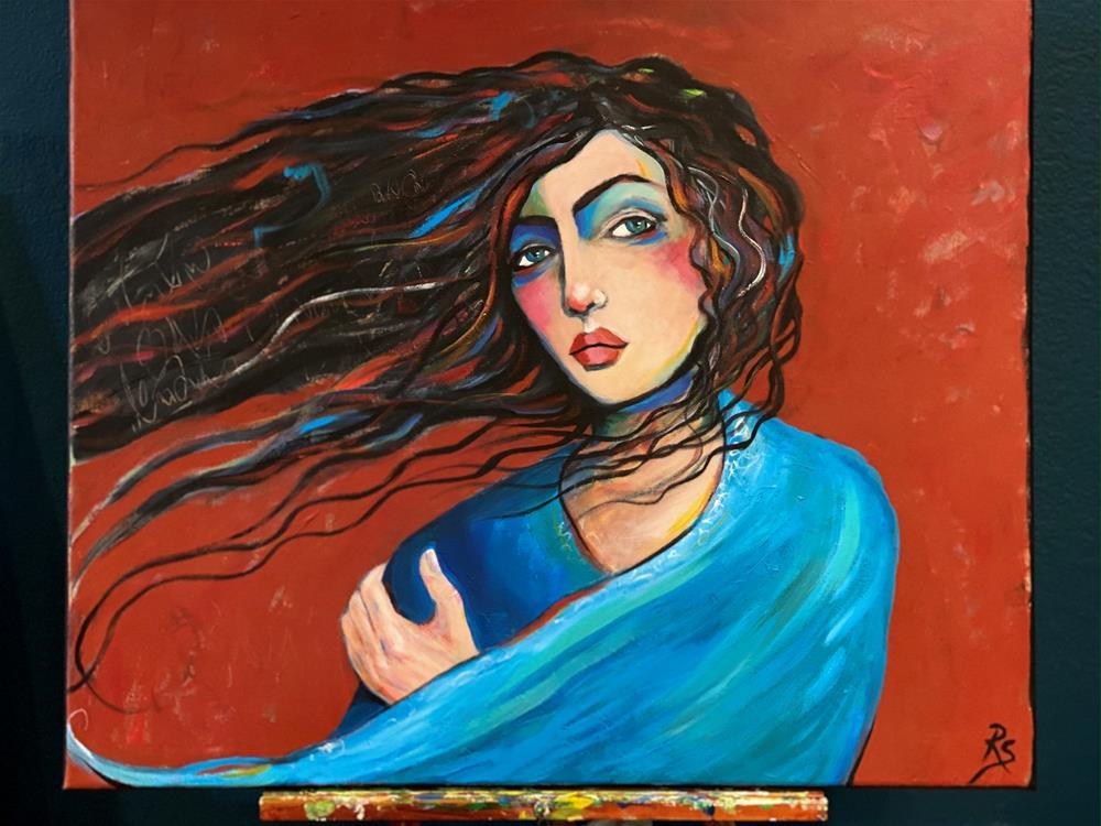 """Winds of Change"" original fine art by Artcylucy Art by Roberta Schmidt"