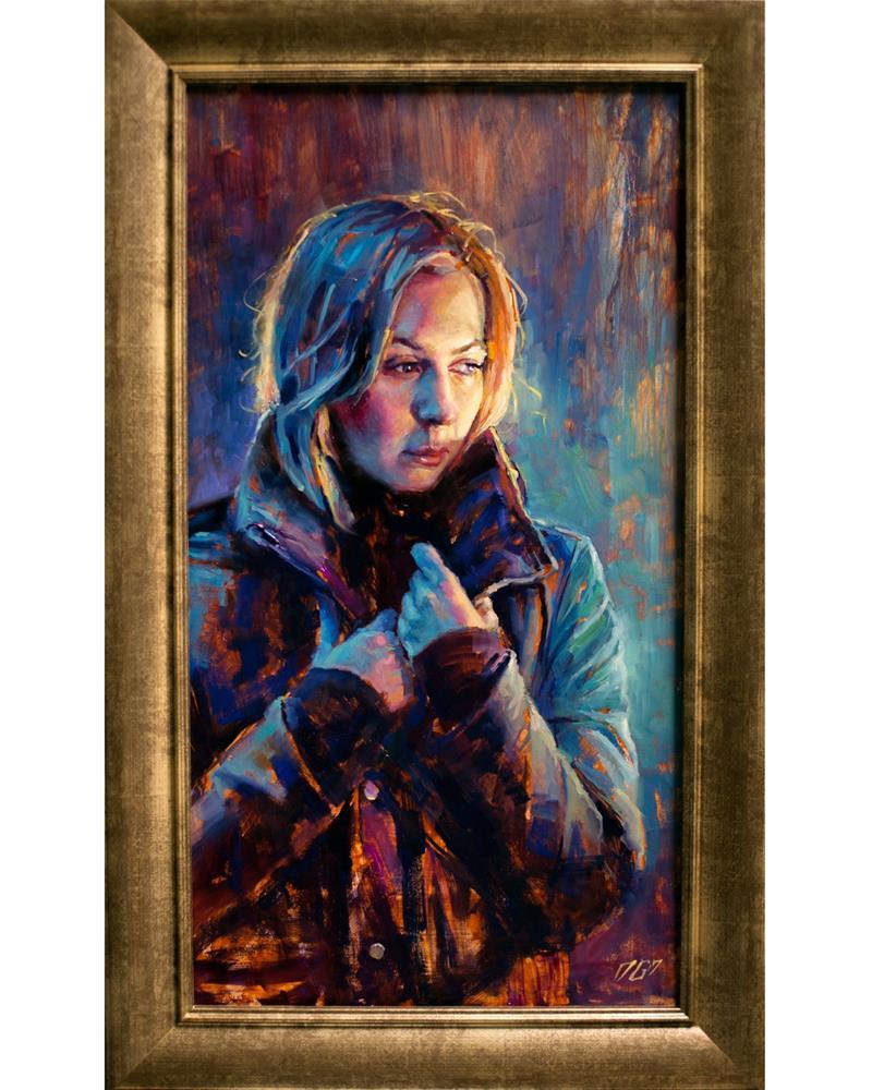 """Anticipating"" original fine art by Dimitriy Gritsenko"