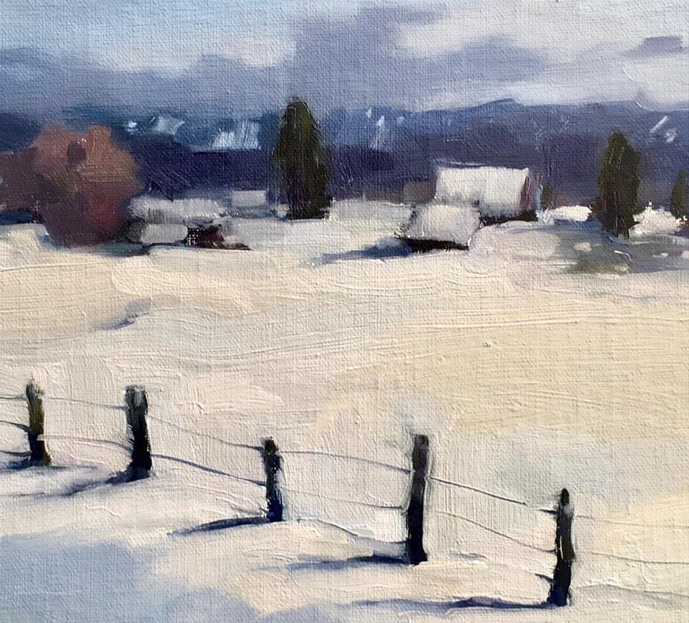 """Exploring-Idaho#1 (McCall)"" original fine art by Katya Minkina"