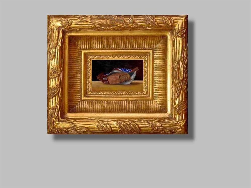 """""""bitten snickers"""" original fine art by Mark DeBak"""
