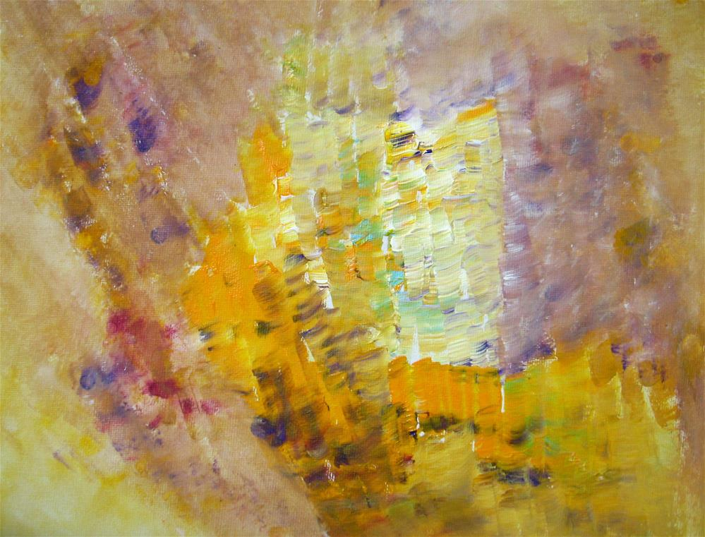 """""""Meadow Flowers Abstract"""" original fine art by Alina Frent"""