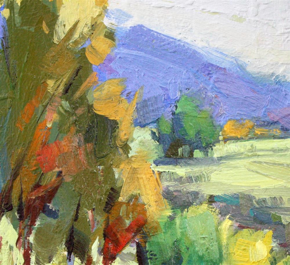 """Spring Meadow"" original fine art by Cathleen Rehfeld"