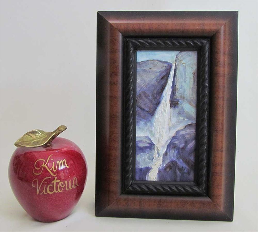 """""""Yosemite Falls miniature"""" original fine art by Kim Victoria"""