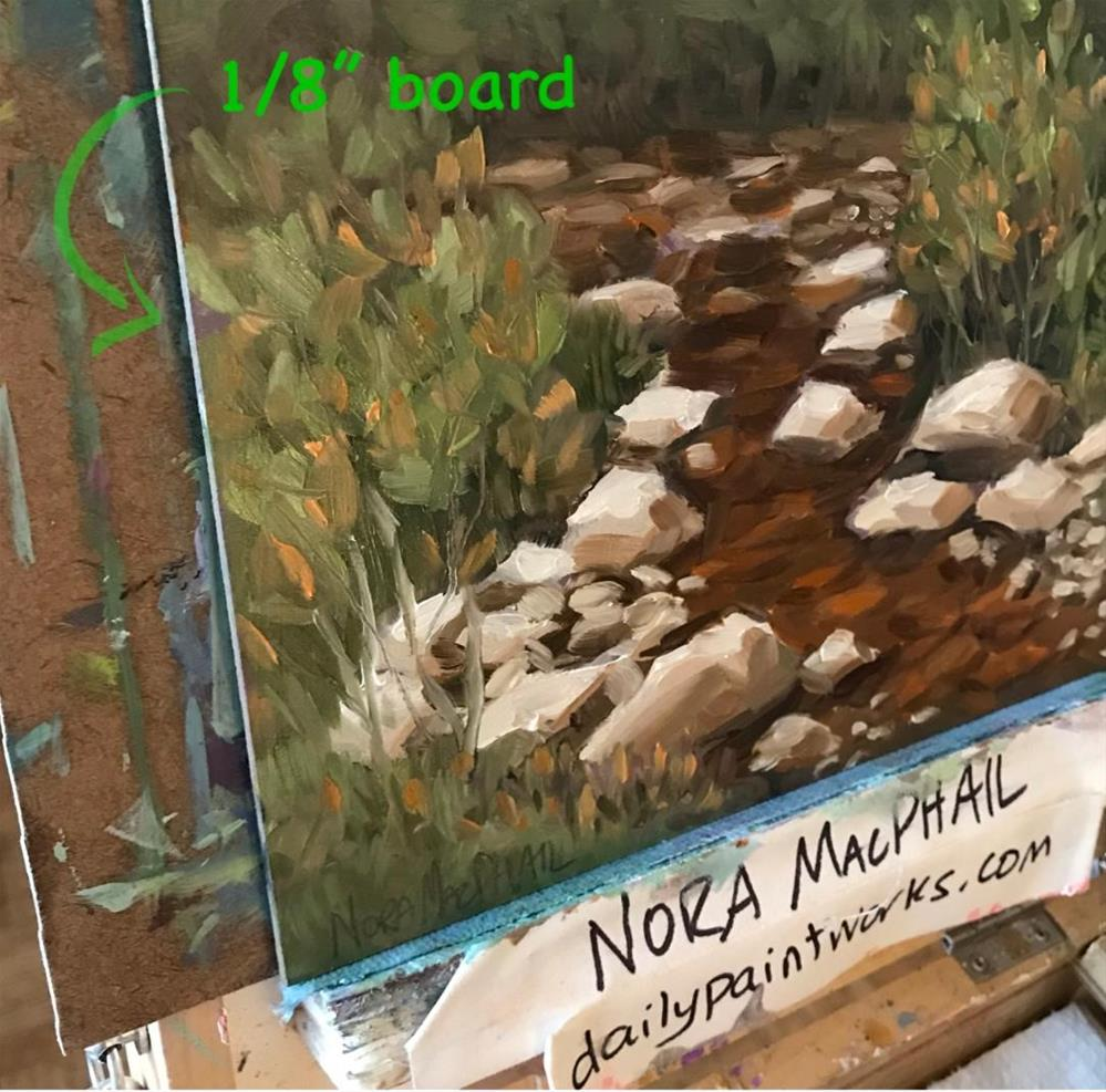 """stoney creek"" original fine art by Nora MacPhail"