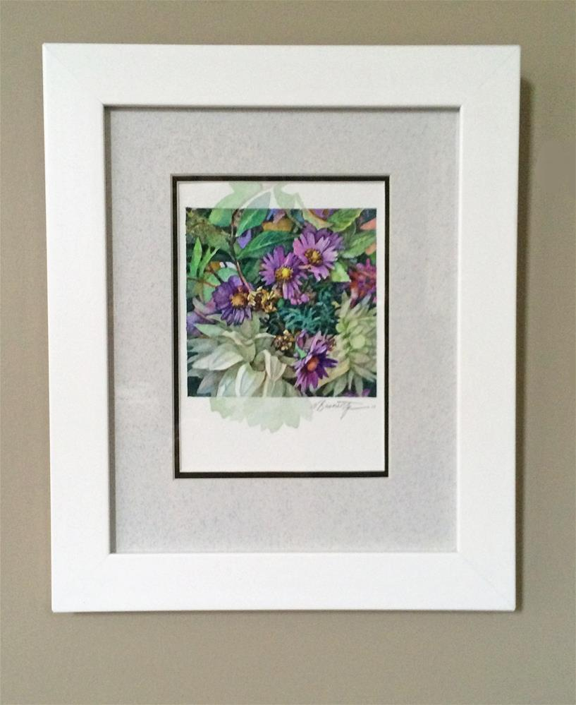 """Sneak Peek(framed)"" original fine art by Nicoletta Baumeister"