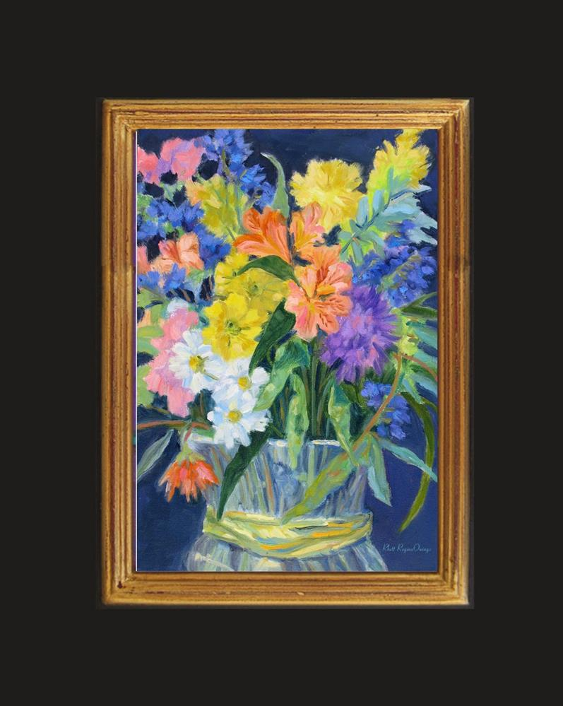 """""""Flower Bouquet"""" original fine art by Rhett Regina Owings"""
