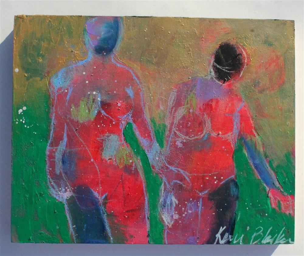 """Walking Together"" original fine art by Kerri Blackman"