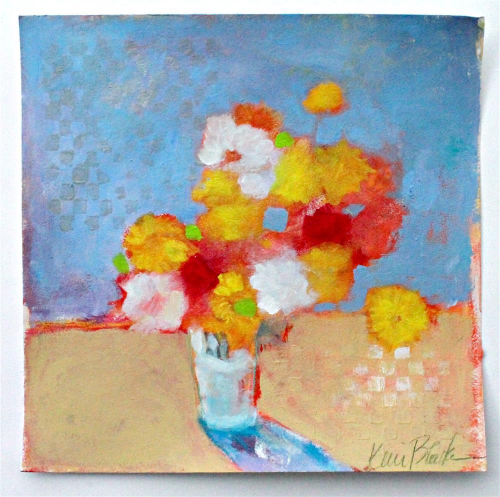 """Bouquet Study "" original fine art by Kerri Blackman"