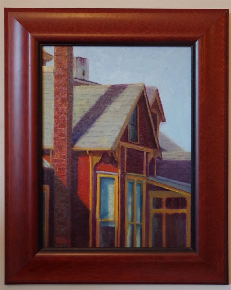 """Peaked Interest"" original fine art by Marilyn R. Place"