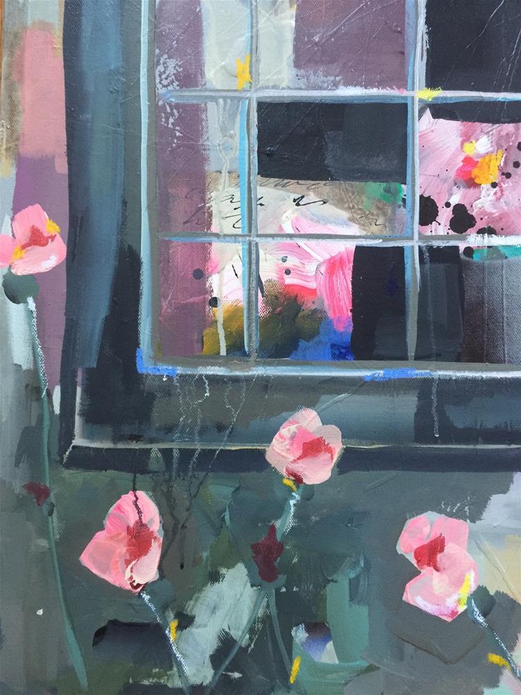 """""""472 In the Garden"""" original fine art by Jenny Doh"""