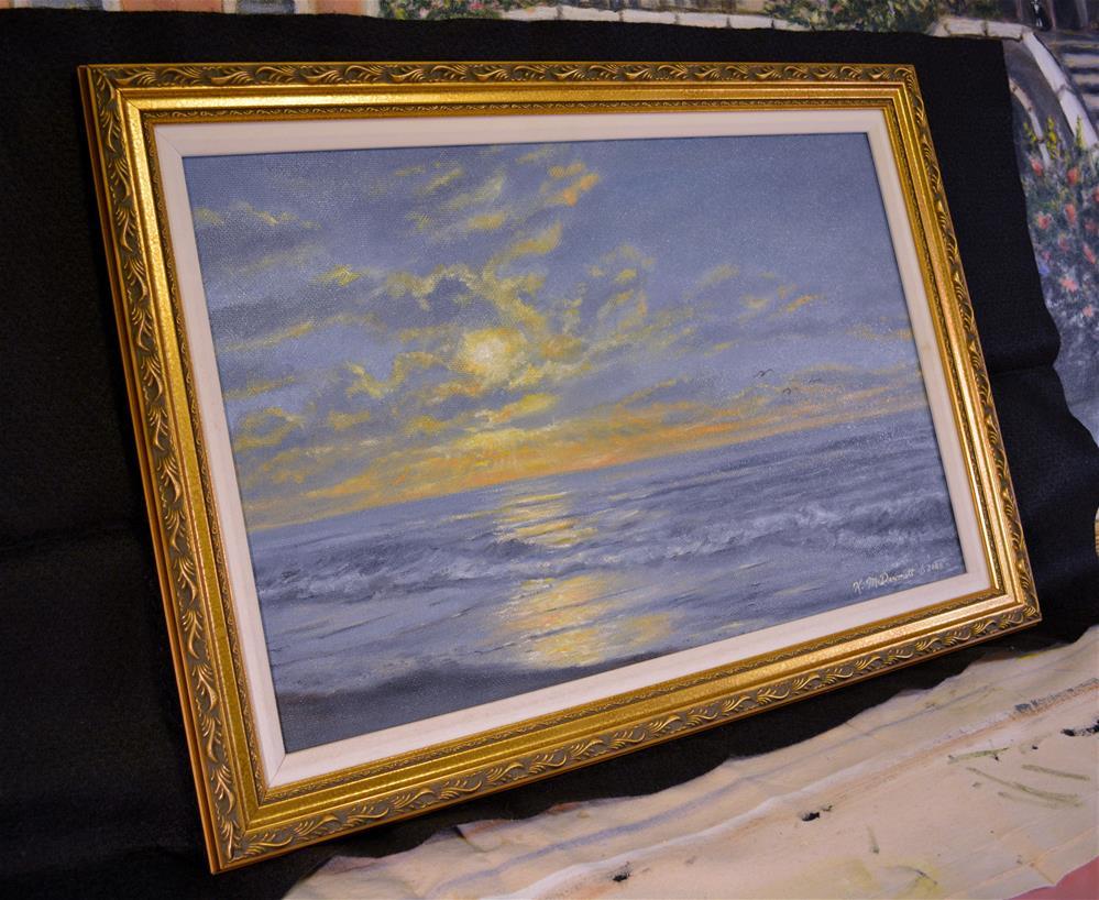 """Atlantic Dawn"" original fine art by Kathleen McDermott"