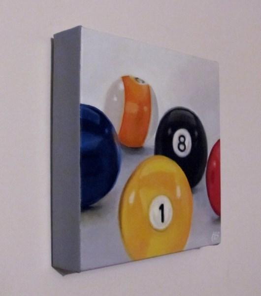 """Emma's Pool Balls"" original fine art by ~ces~ Christine E. S. Code"
