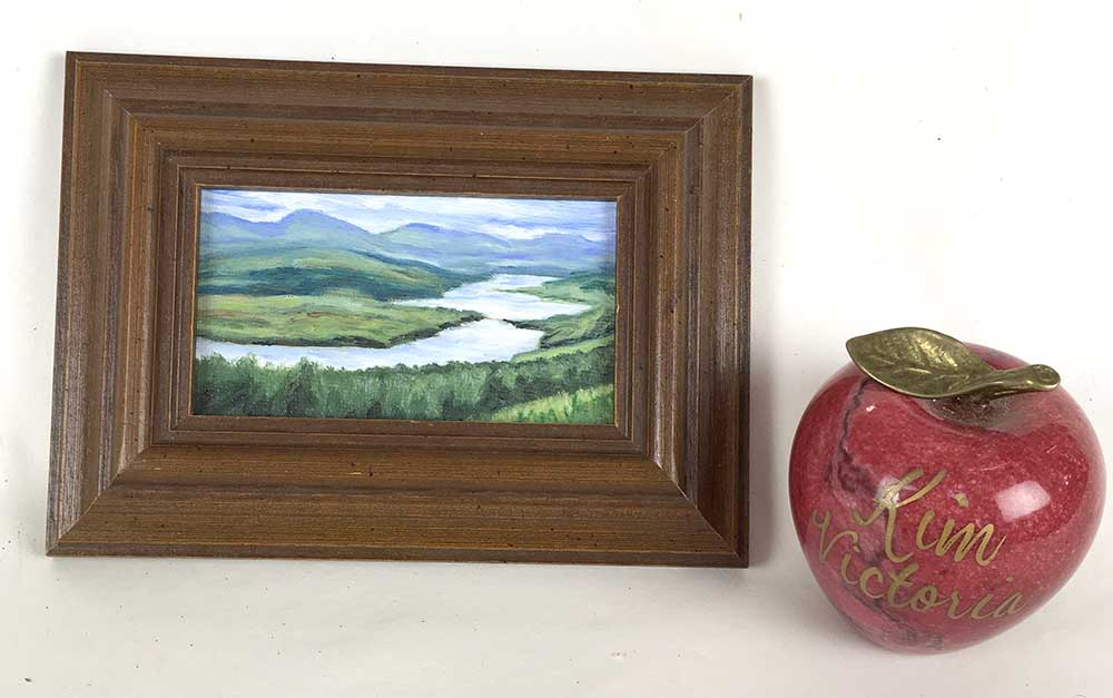 """Loch Katrine Viewpoint, Scotland"" original fine art by Kim Victoria"