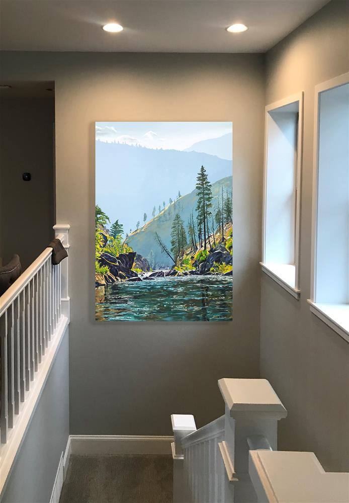 """Middlefork Wonder"" original fine art by Andy Sewell"