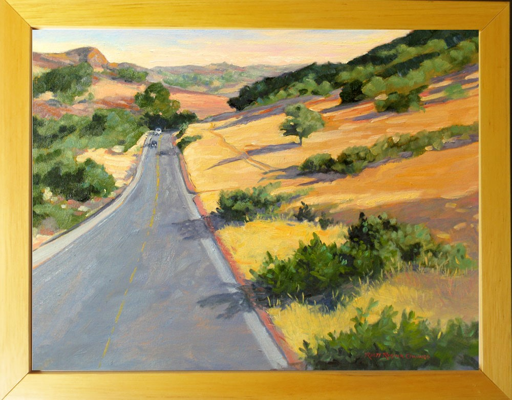 """On the Way to Sonora"" original fine art by Rhett Regina Owings"