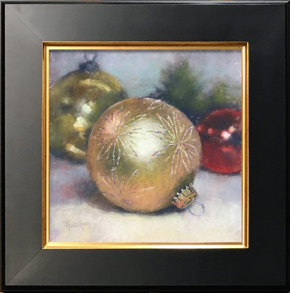 """Holiday Glitz"" original fine art by Pamela Hamilton"
