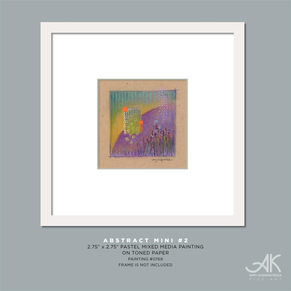 """ABSTRACT MINI 2 #0768"" original fine art by Amy Kirkpatrick"