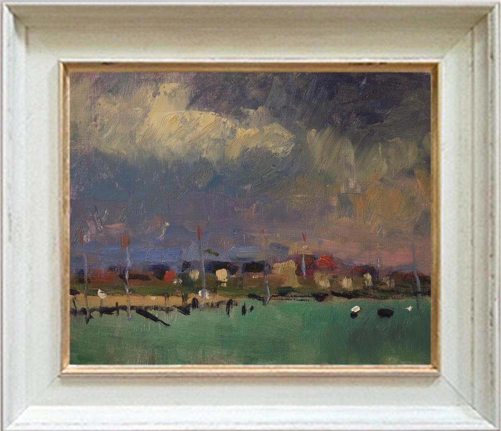 """Dark Sky at Shoreham"" original fine art by Andre Pallat"