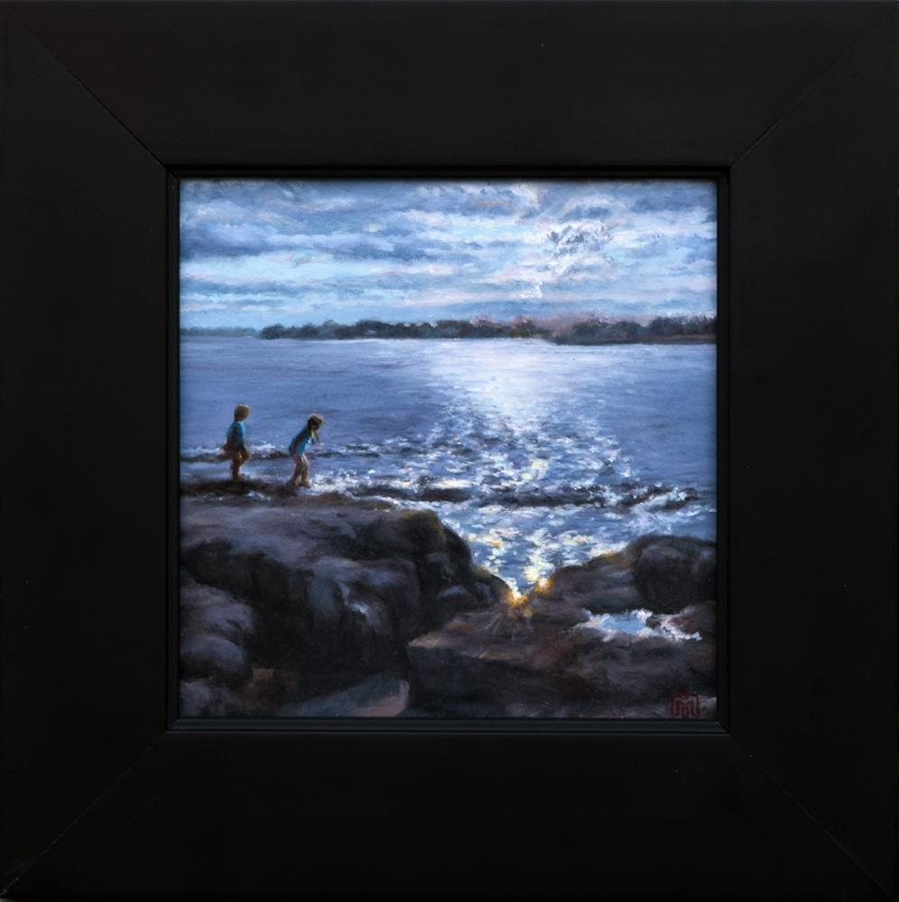 """Bright Lights"" original fine art by Melissa  Imossi"