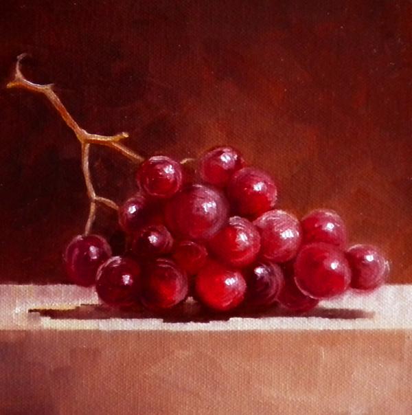 """Afternoon Snack"" original fine art by Darla McDowell"