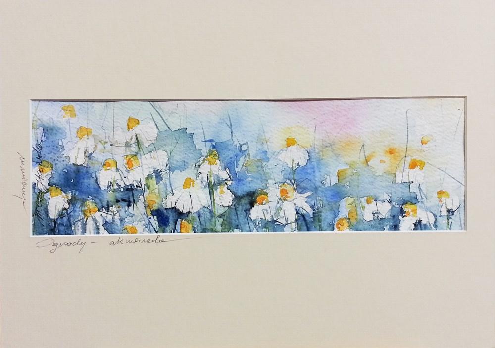 """Comomiles"" original fine art by Marlena Czajkowska"