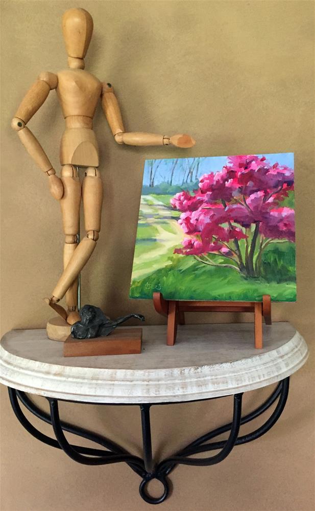 """""""Magnolias in Sunlight"""" original fine art by Andrea Jeris"""