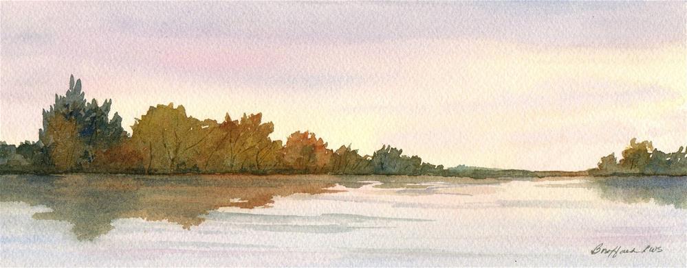 """Still Water"" original fine art by Vikki Bouffard"