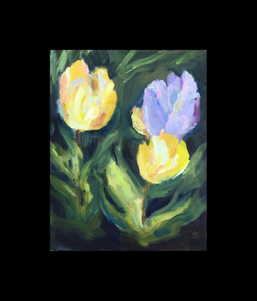 """Interpretive Tulips "" original fine art by Victoria  Biedron"