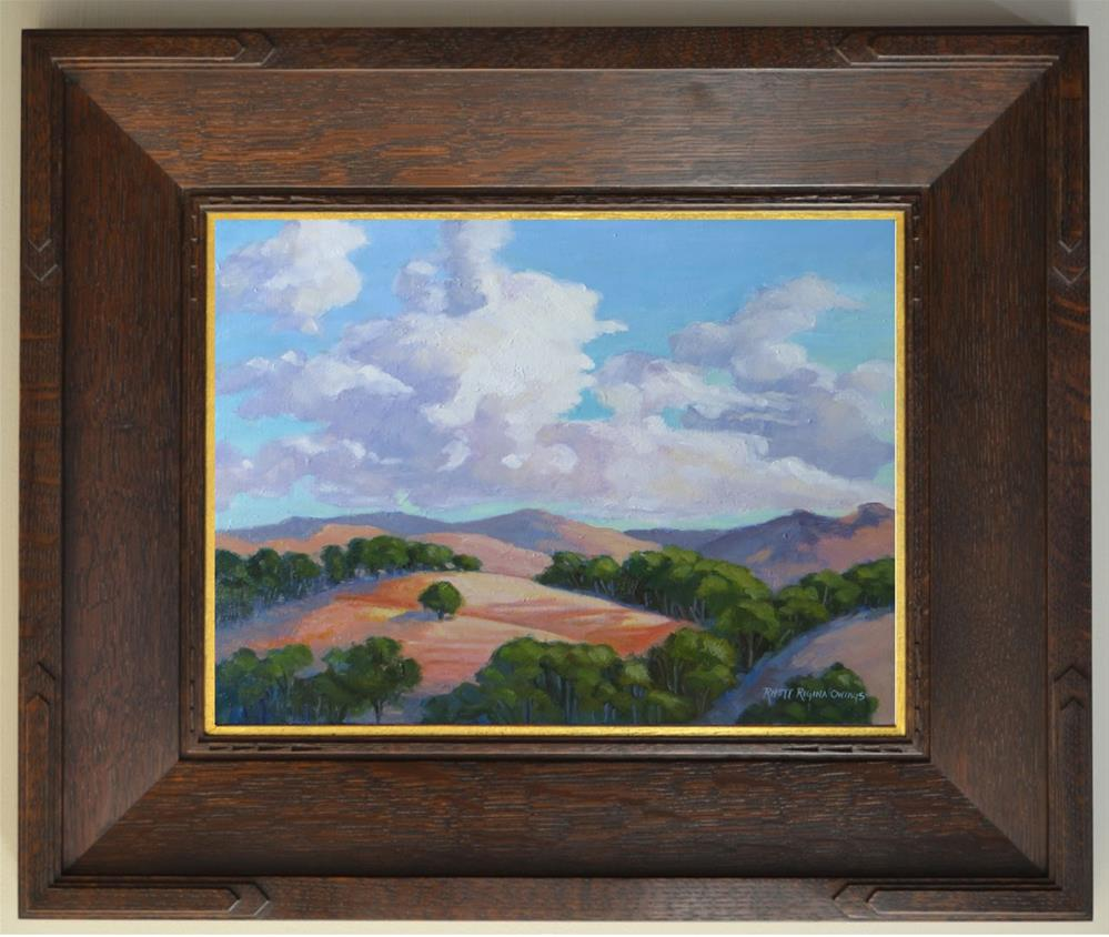 """""""Bring in the Clouds"""" original fine art by Rhett Regina Owings"""