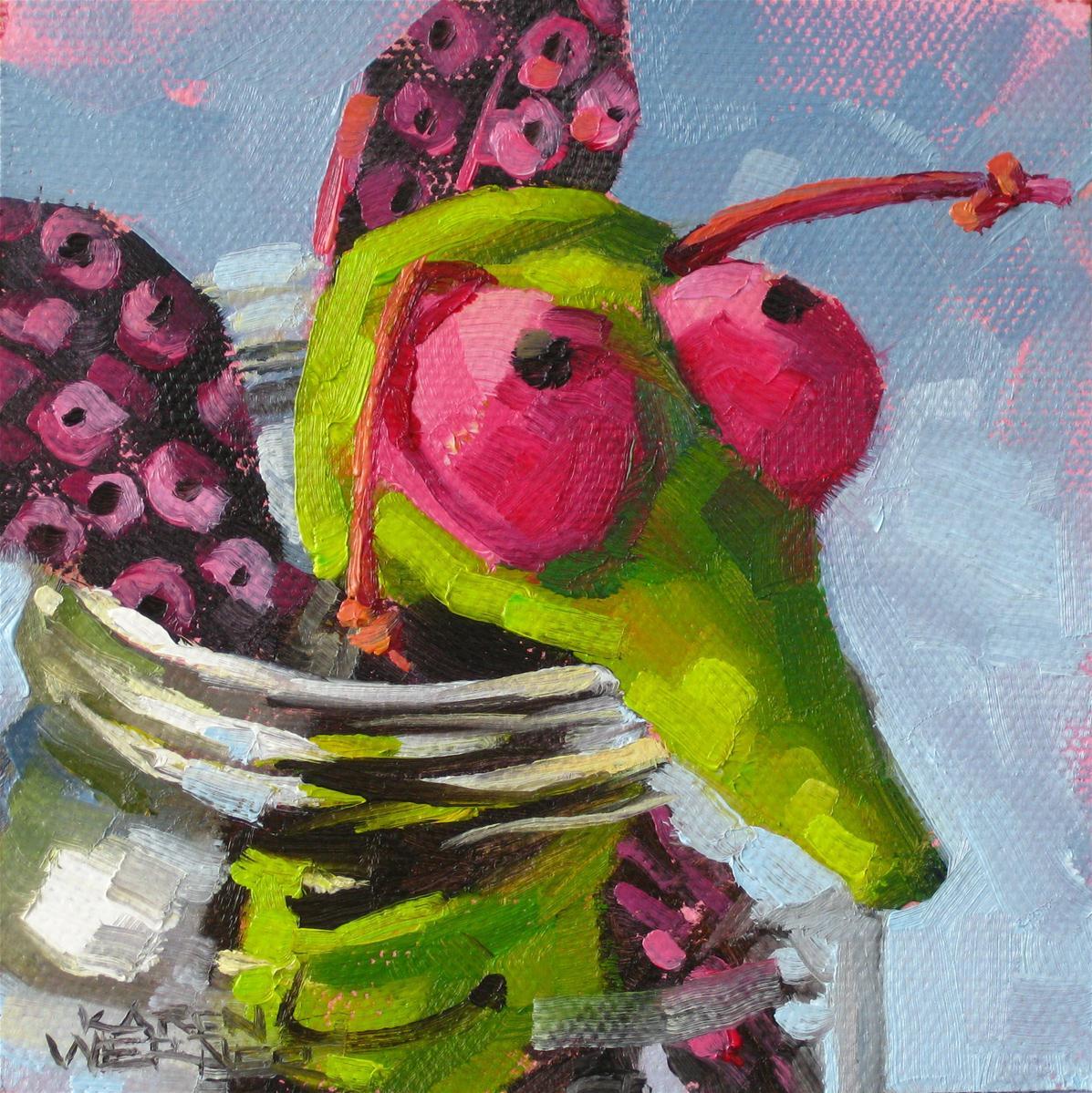 """""""Bug Jar"""" original fine art by Karen Werner"""
