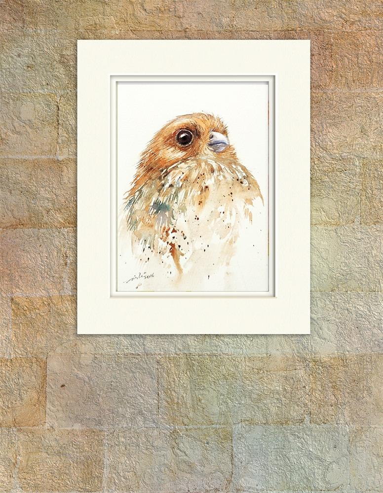 """Young Osprey"" original fine art by Arti Chauhan"