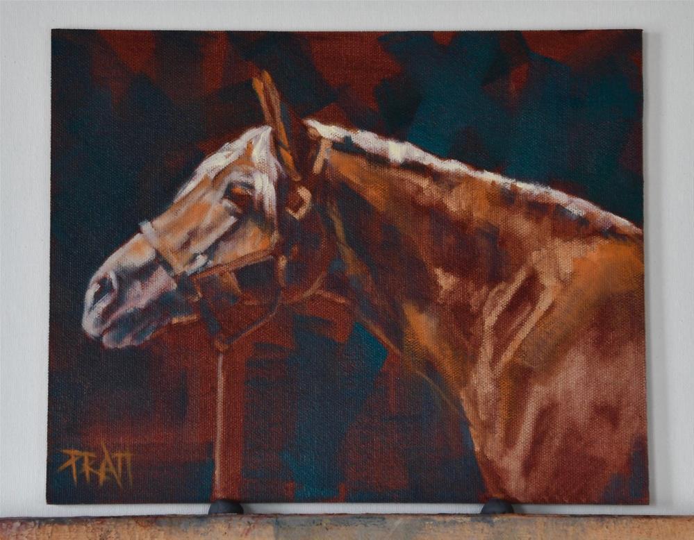 """Pigathius Lee"" original fine art by Jennifer Pratt"