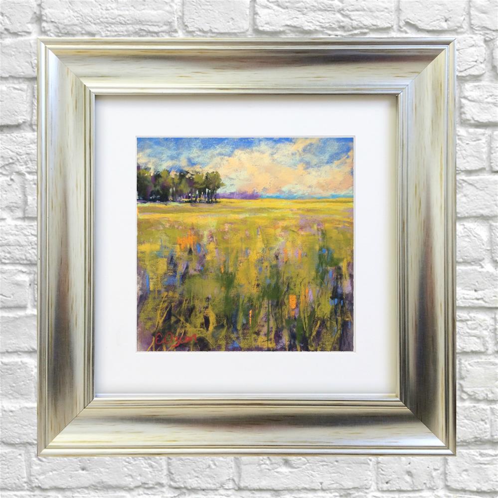 """Sunny Day"" original fine art by Elcin Ozcan"
